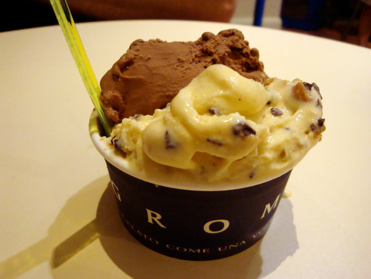 When Visiting Grom You May Be Tempted Baskin Robbins Style To Head Straight Over The Ice Cream Counter Pick Which Flavor Has Biggest Chunks Of