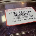 Ube halaya, or purple yam jam