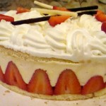 Fraisier (strawberries, cake, & cream)