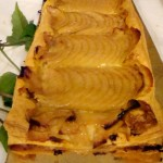 Pear tart