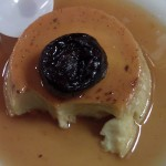 Rum raisin pudding