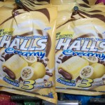 "Halls ""Cream"" - tropical passion fruit with chocolate filling"